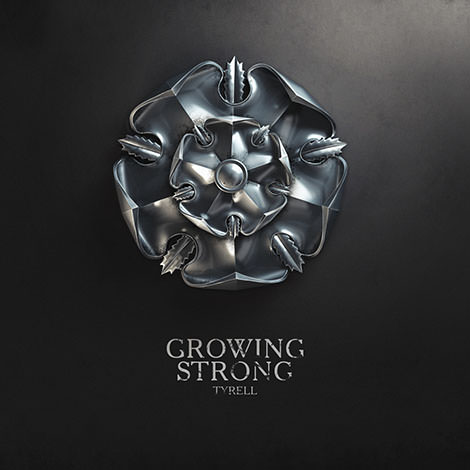 08 game of thrones sign tyrell  growing strong by melaamory Gra o tron   tapety z herbami rodów