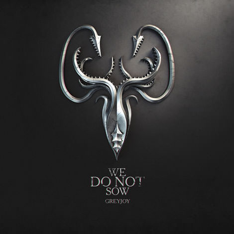09 game of thrones sign we do not sow  greyjoy by melaamory Gra o tron   tapety z herbami rodów