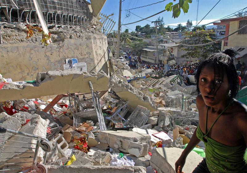 Ruiny haiti