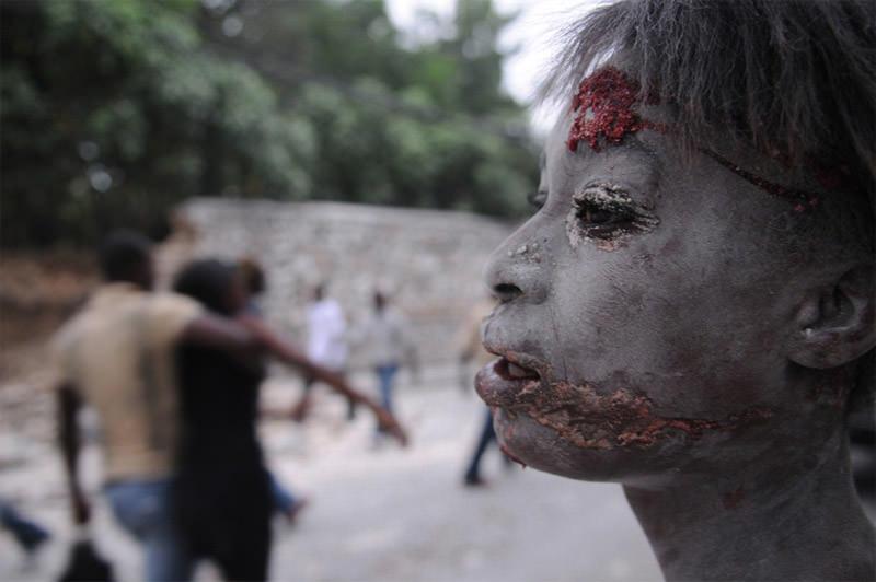 Ranny w trzęsieniu ziemi Haiti