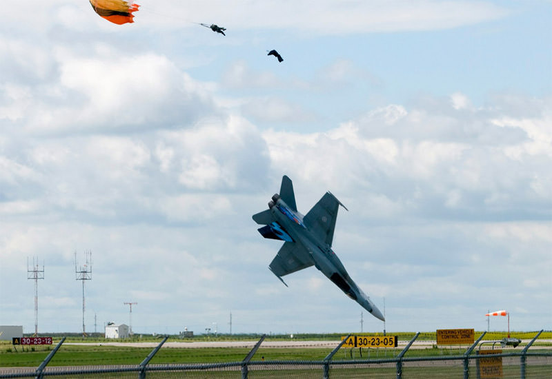 Katastrofa CF18 na airshow