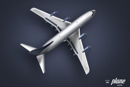 samolot psd