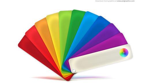 paleta kolorów psd
