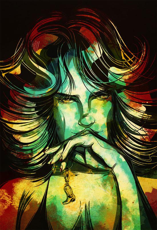 Cesar Moreno - portrety