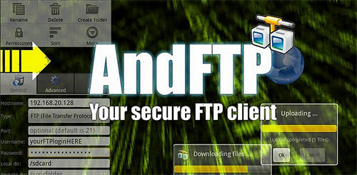 AndFTP Android