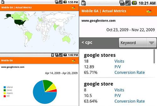 Google Analytics na Androida