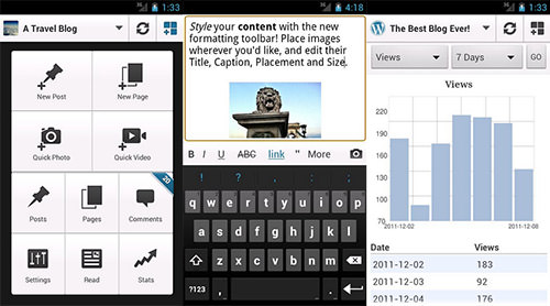Wordpress Mobile Android