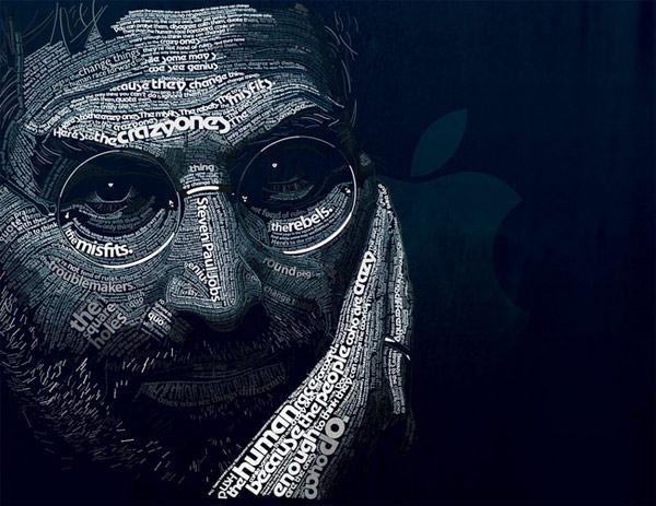 Steven Jobs - portret z napisów