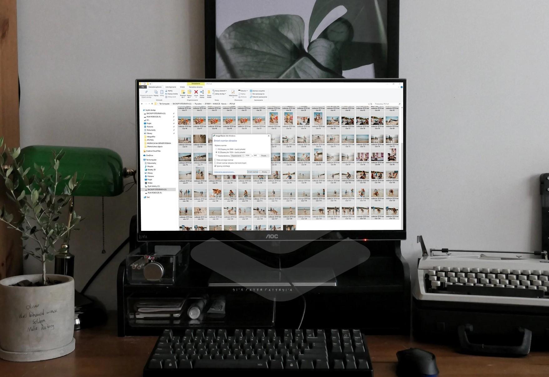 zmiana rozmiaru zdjęć w windows jak w mac