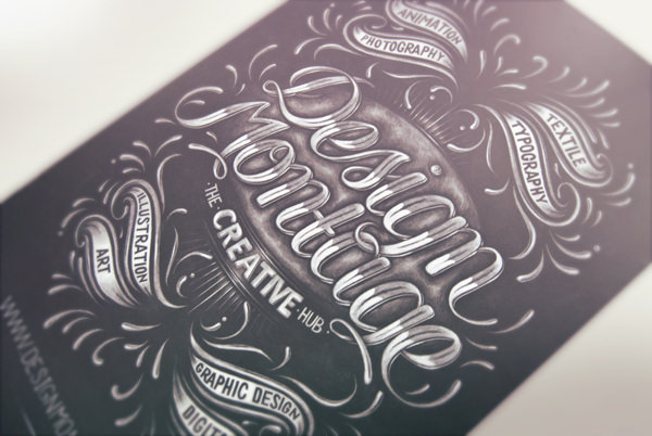 kredowa typografia