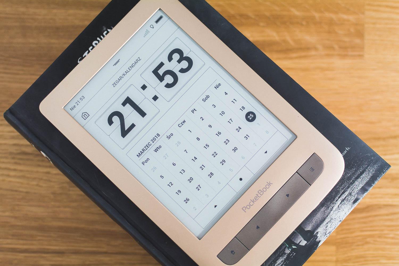PocketBook Touch 3 Lux - recenzja czytnika ebooków z podświetleniem