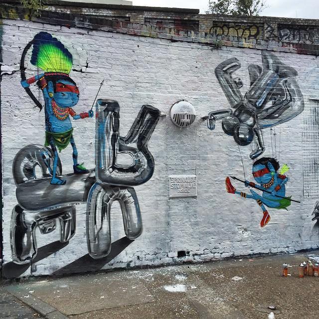 Fanakapan graffiti