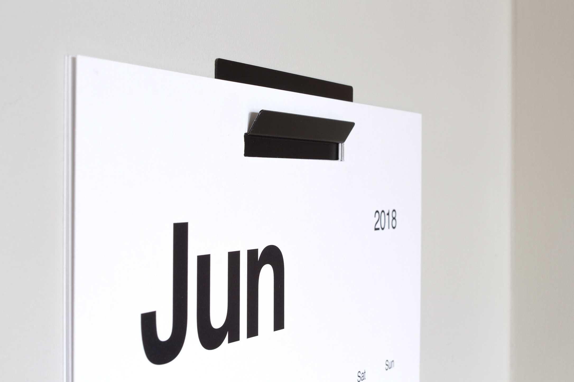 KAL baza minimalistycznego kalendarza ściennego