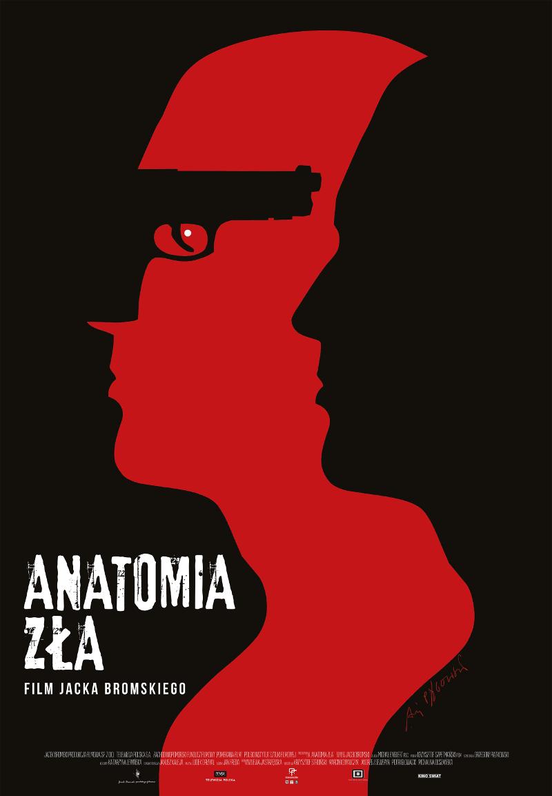 Anatomia Zła - plakat autorski