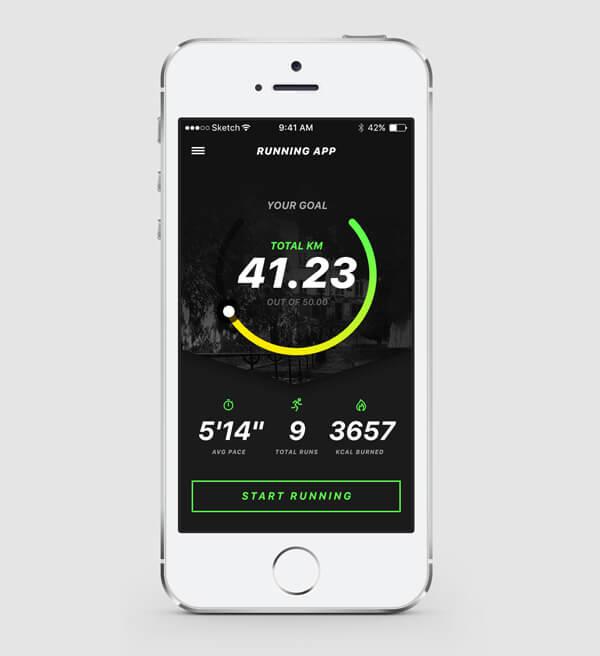aplikacja-mobilna-do-biegania-interfejs