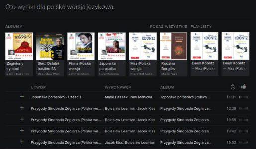 Audiobooki Spotify Deezer