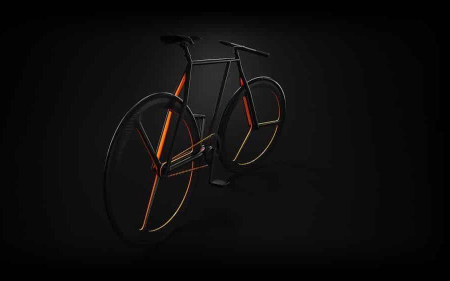Minimalistyczny rower BAIK