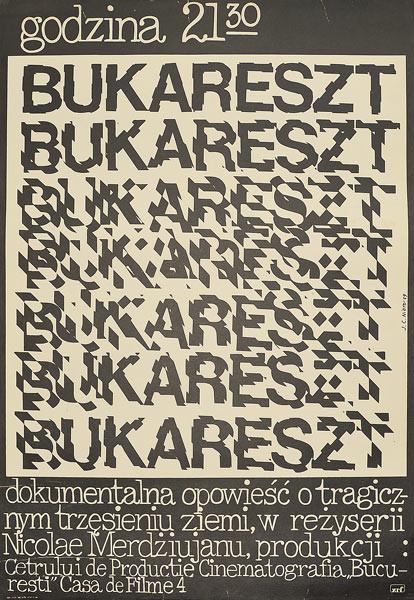 Bukareszt godzina 21:30 - plakat filmowy  JAIME CARLOS NIETO