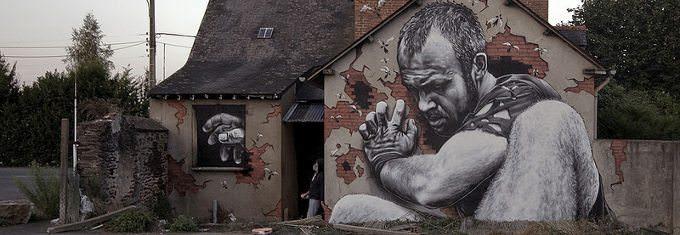 fotorealistyczne graffiti mto
