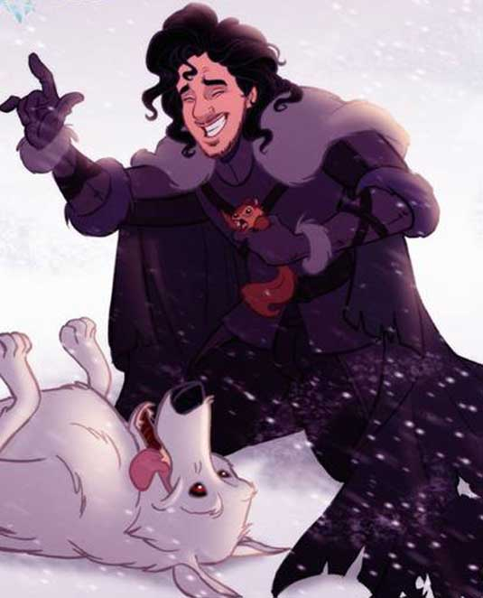 Jon Snow Disney