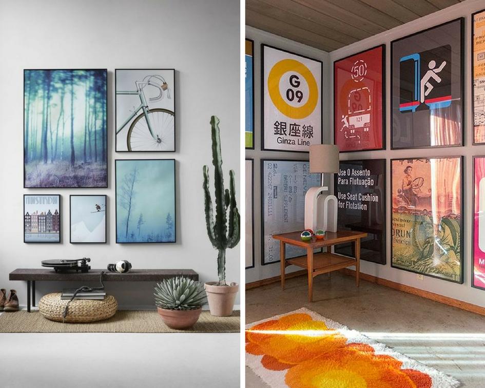 kreatywne plakaty do biura