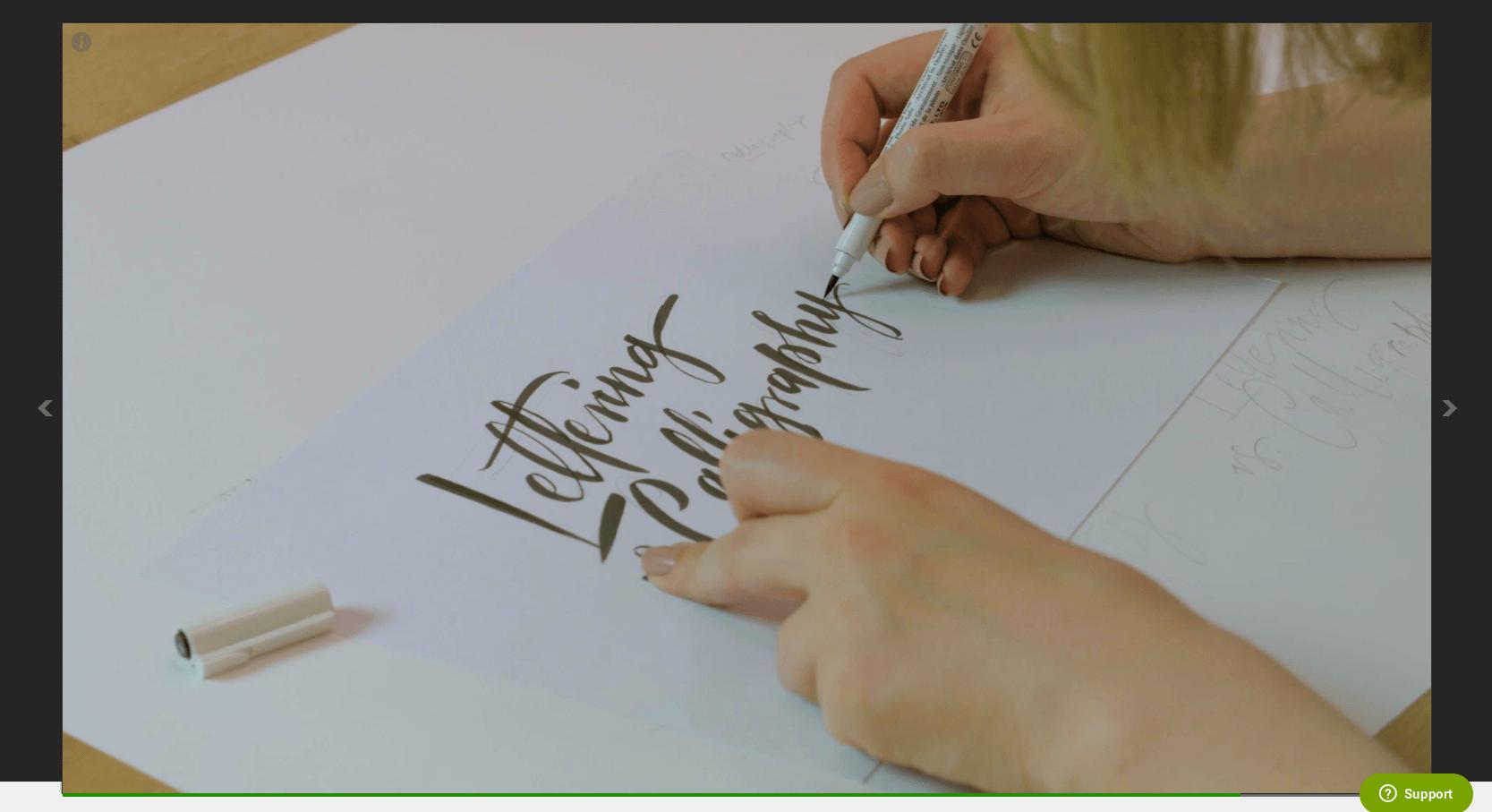 Kaligrafia i lettering - kurs od Eudweb