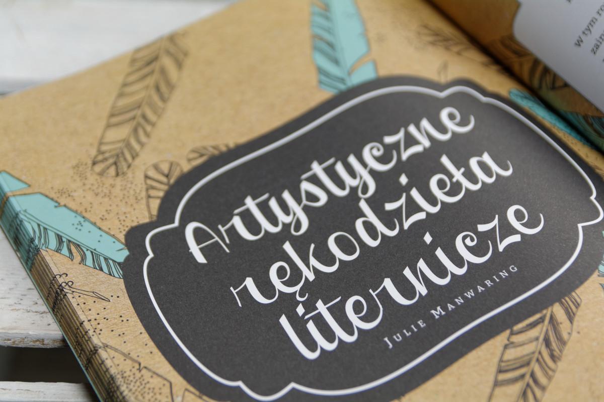 Artystyczne rękodzieła liternicze
