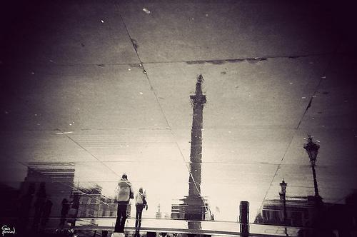 londyn i kałuże