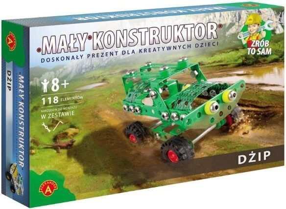 Mały konstruktor - zabawki kreatywne do składania