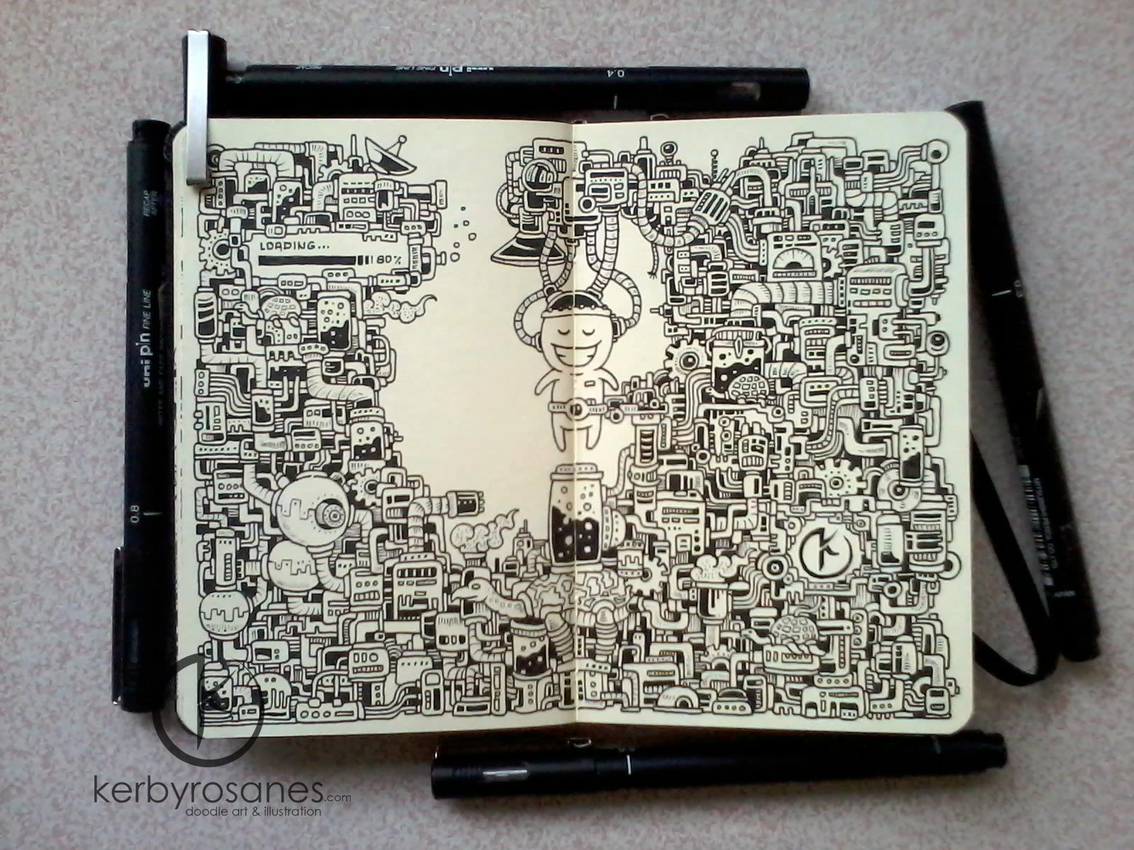 Kerby rosanes i jego magiczny notes moleskine for Kerby rosanes