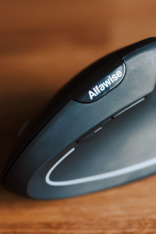 myszka wertykalna alfawise vertical recenzja