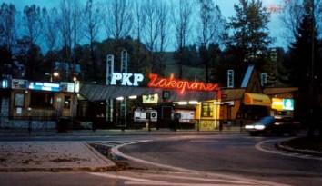 Neon PKP Zakopane rewitalizacja