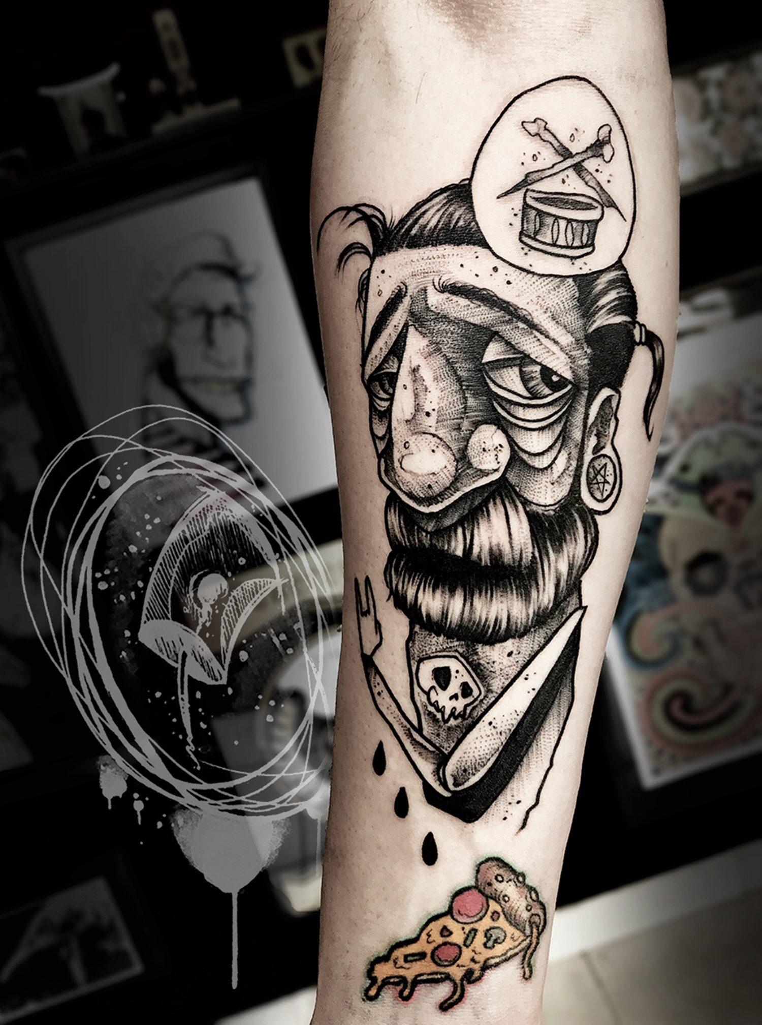 tatuaże grafitti