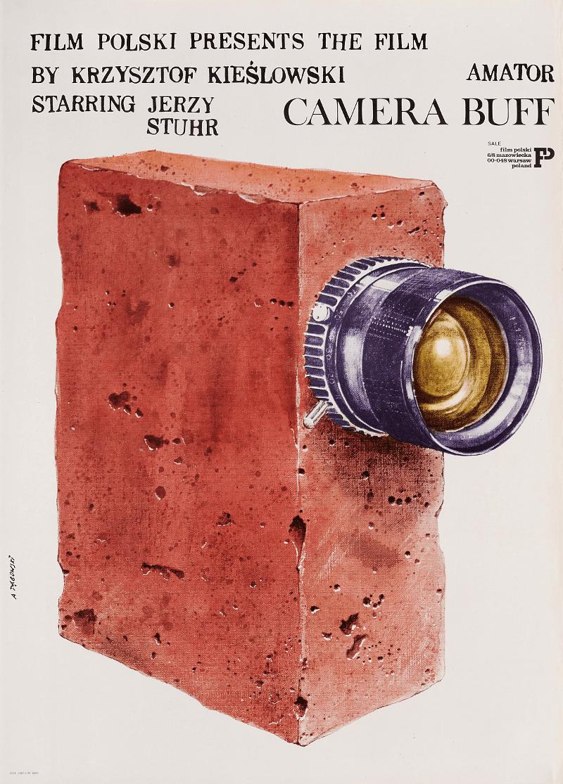 Amator - plakat Andrzeją Pągowskiego