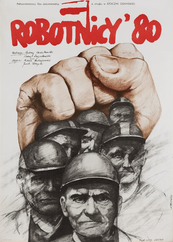 Plakat Robotnicy - Solidarność Pągowski