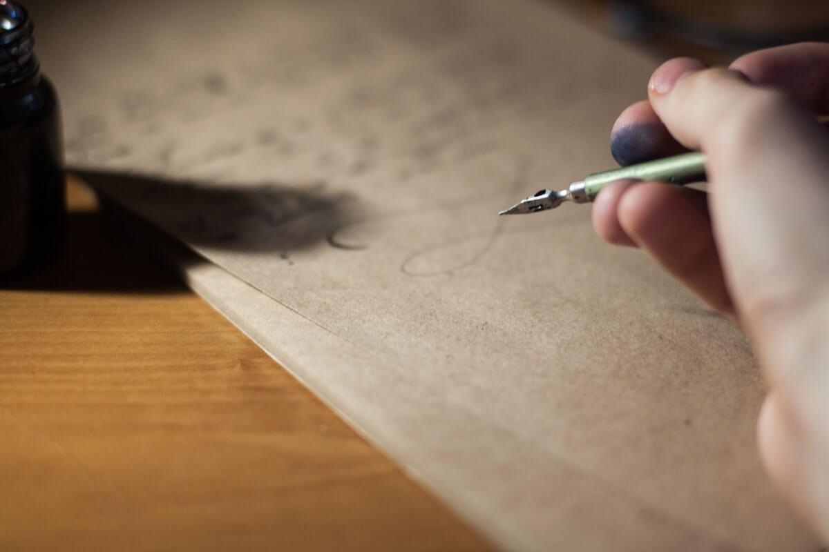 jaki papier do kaligrafii