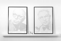 For Brand - portrety z miniaturowych liter