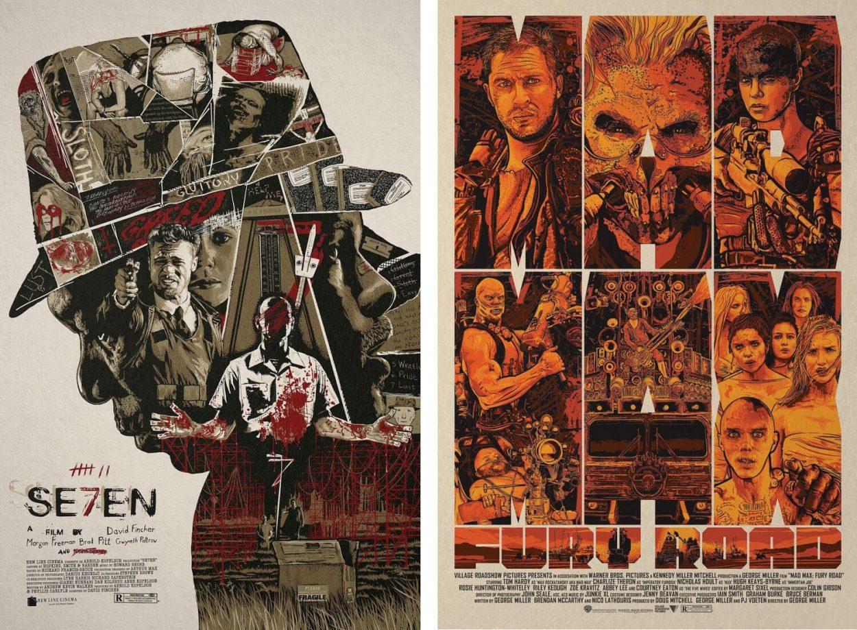 25 niesamowitych plakatów filmowych