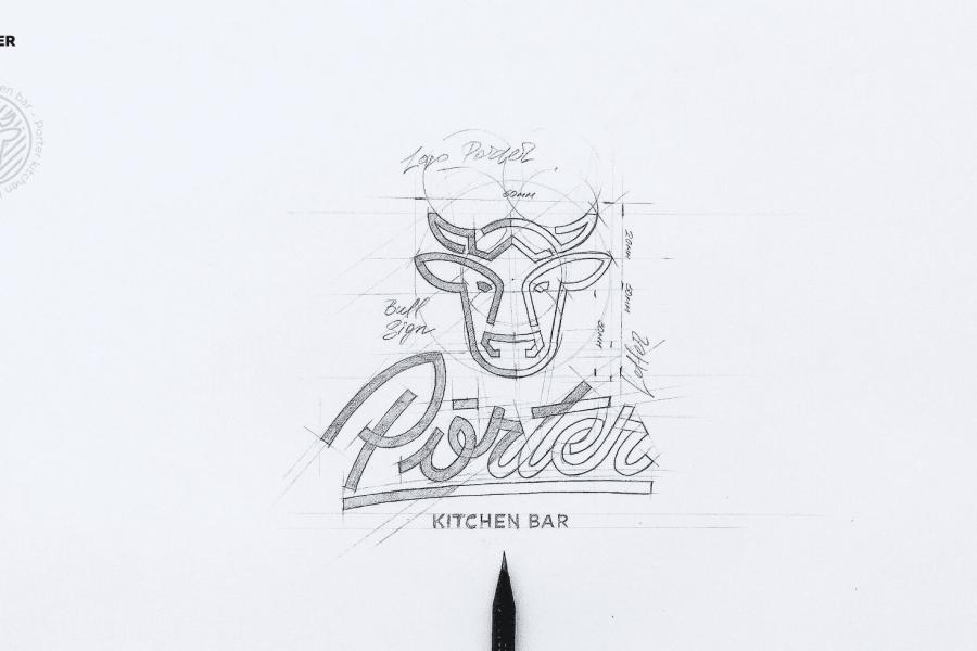 Porter - identyfikacja wizualna, branding case study