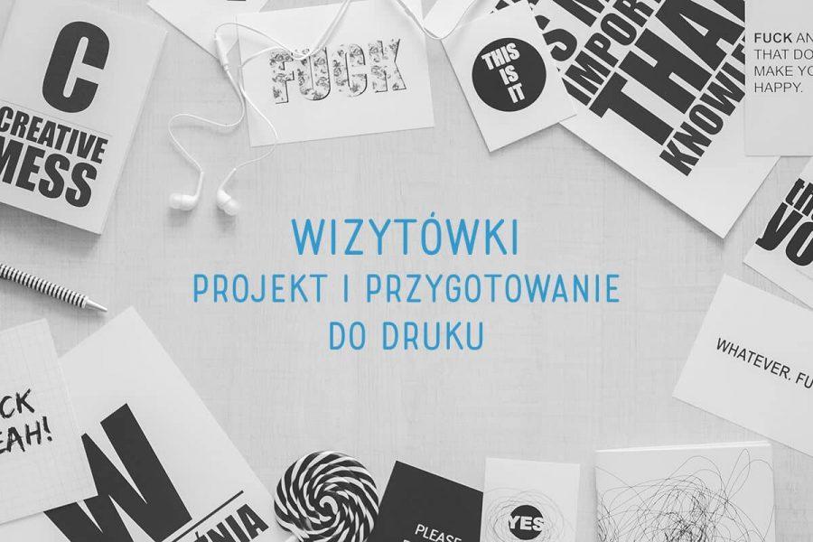 projektowanie i wydruk wizytówek