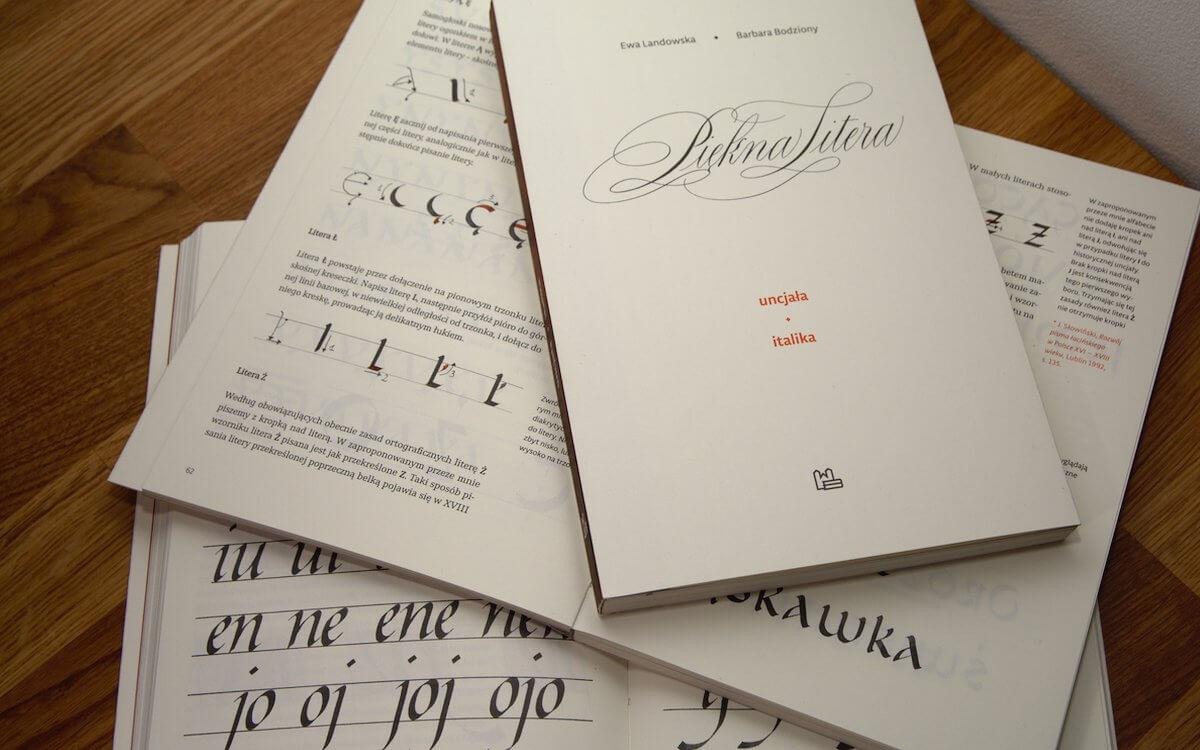 Piękna litera - recenzja książki Landowska Bodziony