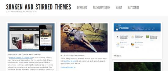 Darmowe szablony WordPress 2012