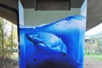 smates-rekin mural