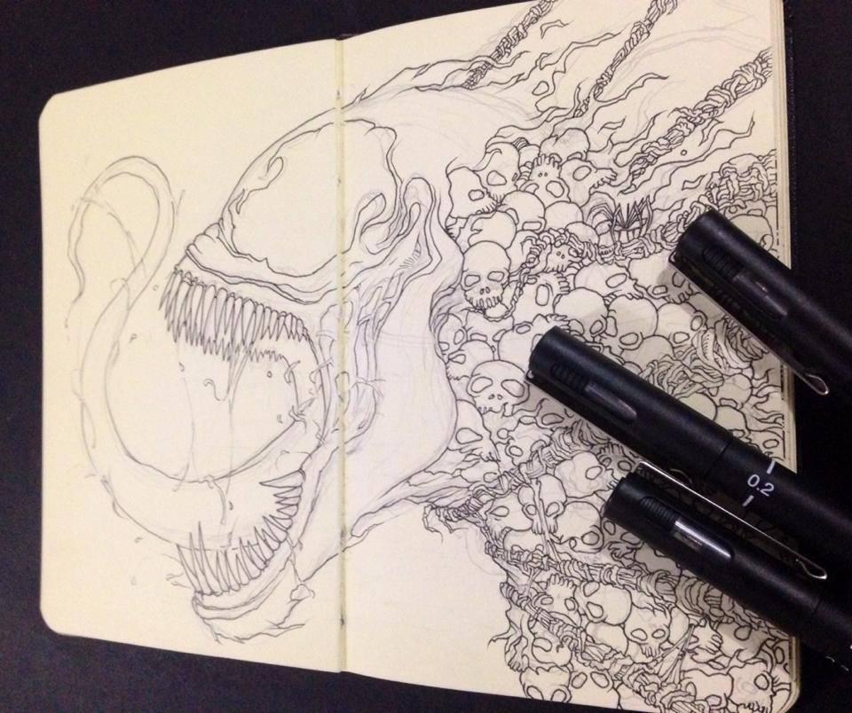 venom-sketch