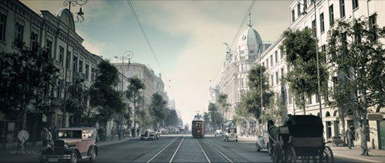Warszawa 1935 animacja
