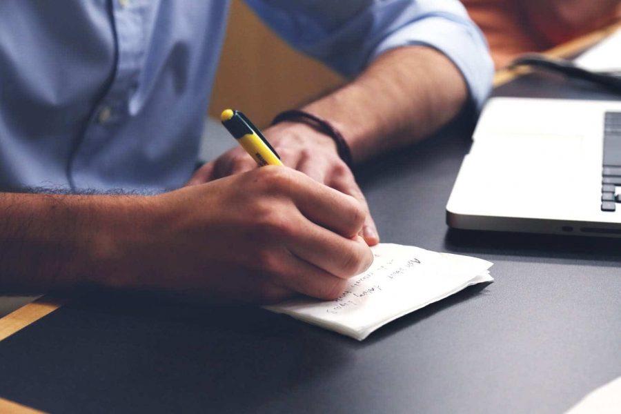pisanie postów w notatnu